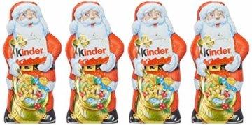 kinder Schokolade Weihnachtsmann, 4er Pack (4 x 160 g) - 4