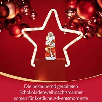 Lindt Weihnachtsmänner Vollmilchschokolade, 3er pack (3 x 70g) - 11