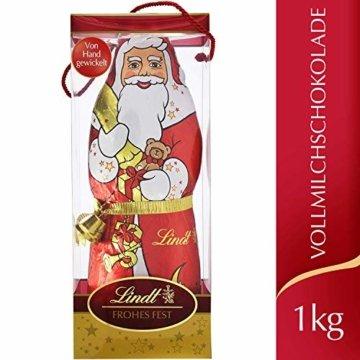 Lindt Weihnachtsmann Vollmilchschokolade, 1er pack (1 x 1kg) - 3