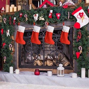 Livder Hängehaken für Weihnachtsbaumschmuck, Metallhaken, S-Form, 120 Stück, Metall, goldfarben, 1.57 inch - 5