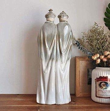 LNDDP Katholische Skulptur, Krippe Figur des Heiligen Vaters Statue Kirche Kirche Dekoration Sammlung Geschenke - 2