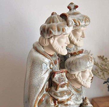 LNDDP Katholische Skulptur, Krippe Figur des Heiligen Vaters Statue Kirche Kirche Dekoration Sammlung Geschenke - 3