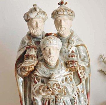LNDDP Katholische Skulptur, Krippe Figur des Heiligen Vaters Statue Kirche Kirche Dekoration Sammlung Geschenke - 5