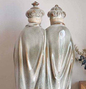 LNDDP Katholische Skulptur, Krippe Figur des Heiligen Vaters Statue Kirche Kirche Dekoration Sammlung Geschenke - 6