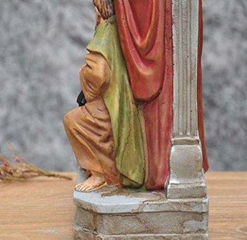 Schöne Krippe Figur, Krippe Familienskulptur Statue Harz katholische Religion Modell Kirche Kirche Dekoration - 3