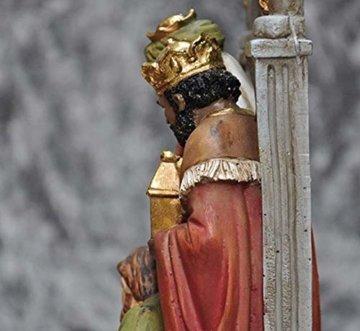 Schöne Krippe Figur, Krippe Familienskulptur Statue Harz katholische Religion Modell Kirche Kirche Dekoration - 5