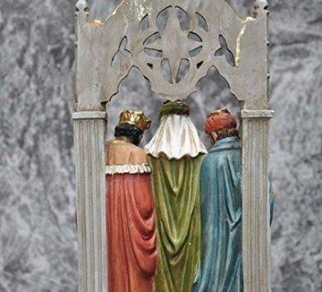 Schöne Krippe Figur, Krippe Familienskulptur Statue Harz katholische Religion Modell Kirche Kirche Dekoration - 6