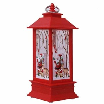 TwoCC-Weihnachtsdekoration, Weihnachtskerze Mit Led-Kerzen Für Weihnachtsdekoration - 1