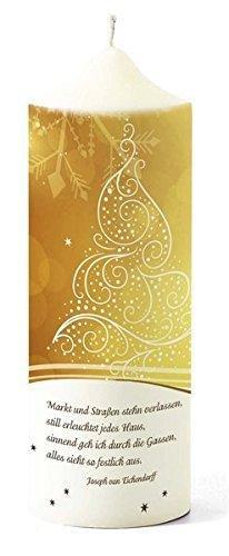 Weihnachtskerze »Eichendorff« - 1
