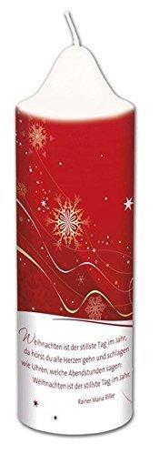 Weihnachtskerze »Rilke« - 1