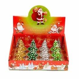 Weihnachtskerzen-Set, duftende umweltfreundliche Teelichter-Lampe für Hochzeits-Geburtstagsfeier-Weihnachtsvalentinstag - 1