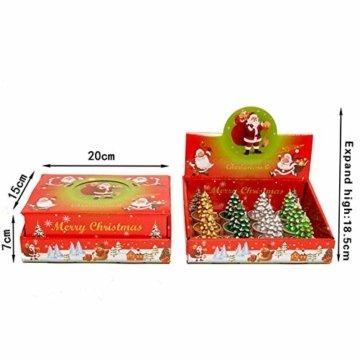 Weihnachtskerzen-Set, duftende umweltfreundliche Teelichter-Lampe für Hochzeits-Geburtstagsfeier-Weihnachtsvalentinstag - 6