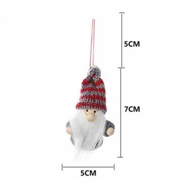 Weihnachtspuppe Handgemachte Plüsch Gnome Schwedische Süßes Figuren Weihnachtsdeko Gesichtslose Puppe Urlaub Geschenke Weihnachtsbaum Fenster Dekoration - 6