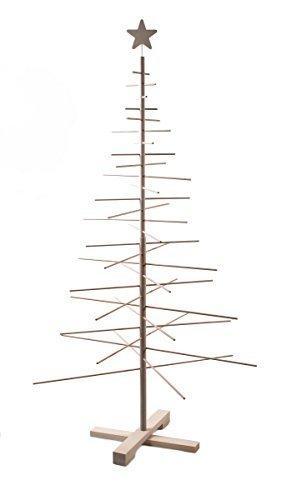 xmas3 L-190 cm Weihnachtsbaum aus Holz, Natural, 100 x 100 x 190 cm - 10