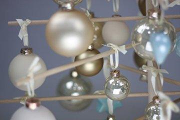 xmas3 M-125 cm Weihnachtsbaum aus Holz, Natural, 68 x 68 x 125 cm - 2