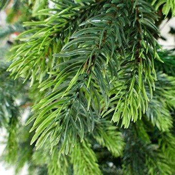 120cm BonTree Tanne Weihnachtsbaum Tannenbaum künstlich aus Spritzguss/PVC-Mix - 2