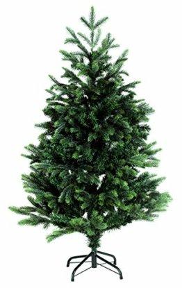 120cm BonTree Tanne Weihnachtsbaum Tannenbaum künstlich aus Spritzguss/PVC-Mix - 1