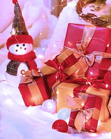 (16 Stück) Flaschenlicht Batterie, kolpop Flaschenlichterkette Korken 2M 20LED Glas Korken Licht Lichterkette mit Batterie für Flasche für außen/innen Deko für Party, Hochzeit, Weihnachten(KaltesWeiß) - 6