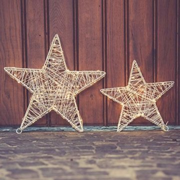 30 Led Stern Fenster 30cm Acryl Weihnachtsbeleuchtung Innen Stern Deko Weihnachtsdeko Fenster Beleuchtet Weihnachtsstern Batteriebetrieben - 4