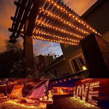 30M LED Lichterkette, Speclux 300 LED Kupferdraht Lichterkette Warmweiß mit Fernbedienung IP65 Wasserdicht Weihnachtsbeleuchtung Innen und Aussen für Weihnachten, Hochzeit, Party, Zuhause, Fenster - 9