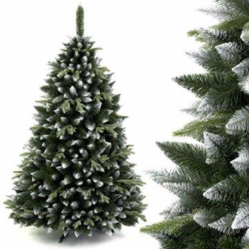 AmeliaHome 07874 120 cm Künstlicher Weihnachtsbaum PVC Tannenbaum Christbaum Kiefer Diana Weihnachtsdeko - 6