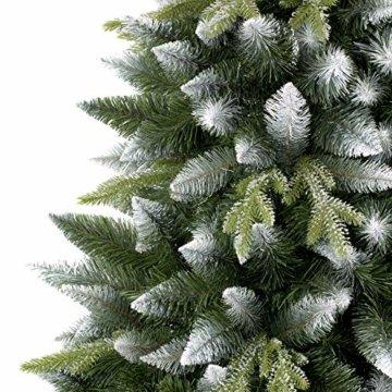 AmeliaHome 07898 180 cm Künstlicher Weihnachtsbaum PVC Tannenbaum Christbaum Kiefer Diana Weihnachtsdeko - 5