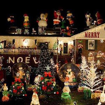 Bcamelys Geschmückter Weihnachtsbäume, 45 cm Mini Künstlicher Weihnachtsbaum, Deko Tannenbaum Mit Dekorationspaket, Weihnachtsdekoration für Zuhause und Büro - 4
