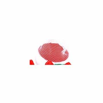 CHBOP 12 x Nikolausstiefel zum Befüllen und Aufhängen Weihnachts Stiefelchen Weihnachten Dekoration Geschenktüten mit Klingel - 4