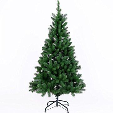 Deuba Weihnachtsbaum 140 cm Ständer Spritzguss künstlicher Tannenbaum Christbaum Baum Tanne Edeltanne Christbaumständer PE - 1