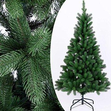Deuba Weihnachtsbaum 140 cm Ständer Spritzguss künstlicher Tannenbaum Christbaum Baum Tanne Edeltanne Christbaumständer PE - 5