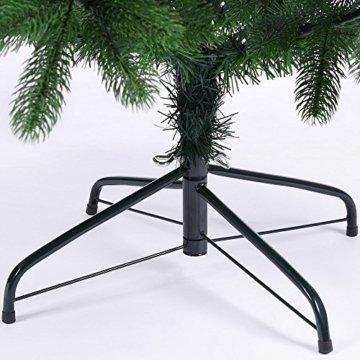 Deuba Weihnachtsbaum 140 cm Ständer Spritzguss künstlicher Tannenbaum Christbaum Baum Tanne Edeltanne Christbaumständer PE - 7