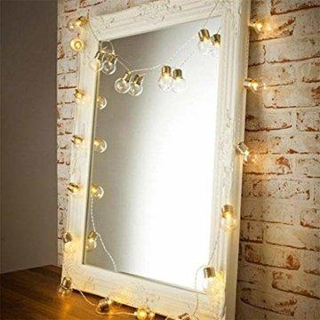 Einfache dekorative Lichterketten in 10LED-Birnenform für die Raumaufteilung im Innen- und Außenbereich,entworfen für Wohnzimmer, Schlafzimmer, Küche - 3