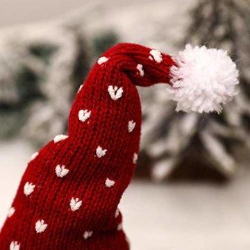 Exuberanter Weihnachtswichtel Deko Schwedische Wichtel Santa Dolls Weihnachtsfigur Wichtel Figuren Weihnachten GNOME Plüsch Gesichtslose Puppe Dekoration Kinder Geburtstagsgeschenke - 6