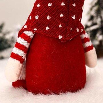 Exuberanter Weihnachtswichtel Deko Schwedische Wichtel Santa Dolls Weihnachtsfigur Wichtel Figuren Weihnachten GNOME Plüsch Gesichtslose Puppe Dekoration Kinder Geburtstagsgeschenke - 7