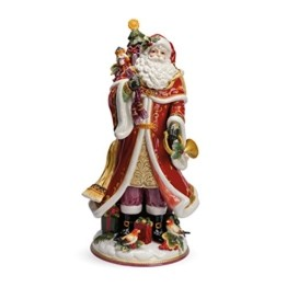 Fitz and Floyd Regal Holiday Collection Weihnachtsmann-Figur - 1