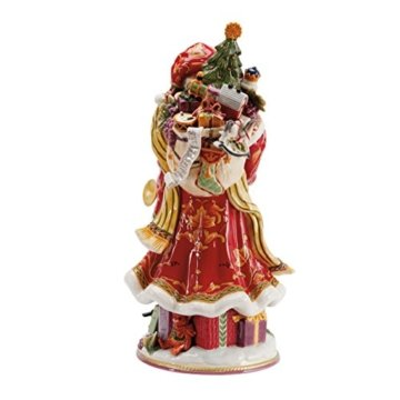 Fitz and Floyd Regal Holiday Collection Weihnachtsmann-Figur - 2