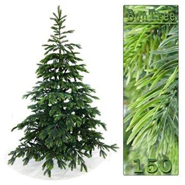 Gartenpirat 150cm BonTree Fichte Weihnachtsbaum Tannenbaum künstlich aus Spritzguss/PVC-Mix - 4