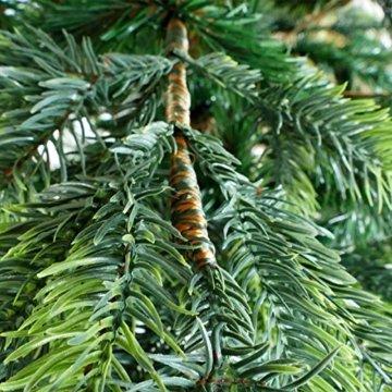 Gartenpirat 150cm BonTree Fichte Weihnachtsbaum Tannenbaum künstlich aus Spritzguss/PVC-Mix - 5