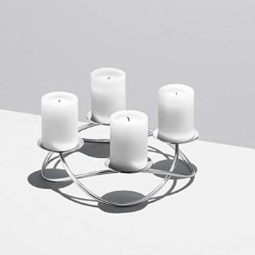 Georg Jensen Kerzenleuchter Season Silber (Groß) - 2
