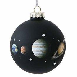 Gift Company - Christbaumschmuck - Christbaumkugel - Planeten - Weltall - Durchmesser: 10 cm - 1
