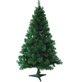 Hengda® Einzigartiger Künstlicher Weihnachtsbaum Baum Dekobaum Kunstbaum mit Ständer Christbaum 120CM Tannenbaum Grün - 1