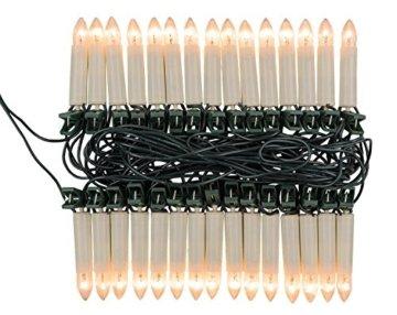 Idena 8582169 - Kerzenlichterkette, 30er, für innen, warm weiß - 2