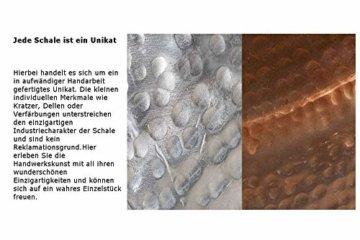Invicta Interior Elegantes 3er Set Dekoschalen Orient Silber Nickel Metall Hammerschlag Schale Dekoration Wohnaccessoire Accessoire - 8