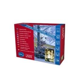 Konstsmide 2002-000 Baumkette mit Topbirnen / für Außen (IP44) / 230V Außen / 20 klare Birnen / grünes Kabel - 1