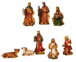 Krippenfiguren 9-teiliges Set Krippe Figuren bis 7,5 cm - 1