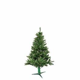 LARS360 90cm Künstlicher Weihnachtsbaum 3ft Christbaum Tannenbaum Grüne PVC mit Schnee-Effekt inkl. Ständer Künstliche Tanne mit Klappsystem Für Aussen Weihnachtsdeko Innen - 1
