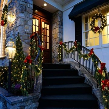 LED Lichterkette 100M 800 LEDs Ollny Wasserdicht Lichterkette Lang mit Fernbedienung & Timer 8 Modi Balkonbeleuchtung für Weihnachten Outdoor Innen Kinderzimmer Hochzeit Wohnzimmer, Kaltweiß - 7