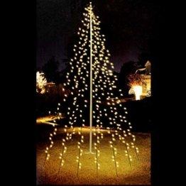 LED Lichterkette 192 LEDs Weihnachtsbaumbeleuchtung 2,08m Baum Beleuchtung Kegel - 1