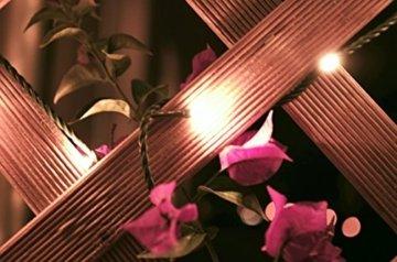 LED Universum Lichterkette mit 100 warmweißen LEDs und verschiedenen Stimmungsmodi für innen und außen, 10 Meter, IP44, perfekt für Weihnachtszeit, Hochzeiten oder Gartenfeiern - 6