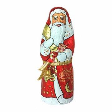 Lindt Weihnachtsmänner Vollmilchschokolade, 3er pack (3 x 125g) - 1
